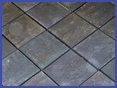 12x12 Diamond Pattern Flagstone Patio Package