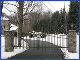 Fieldstone Gates
