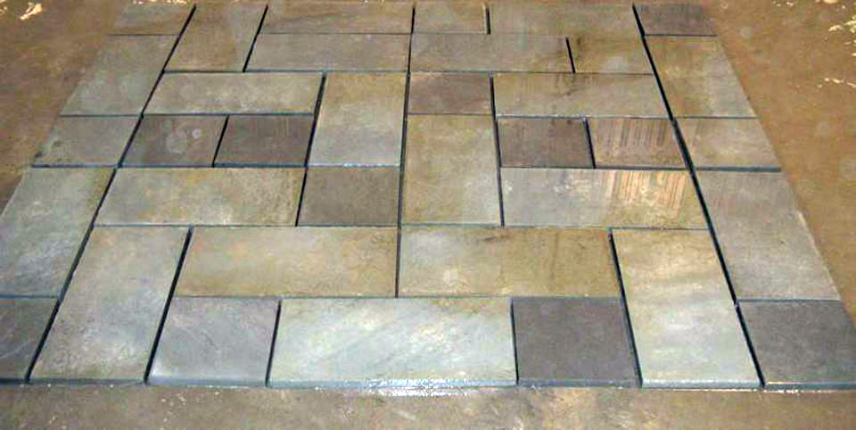 Merveilleux Mixed Pattern Flagstone Patio Package